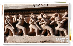 Khajuraho Temples of Erotics